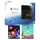 more details on PS4 1TB Console, No Mans Sky and Lego Star Wars.