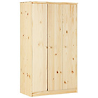 more details on HOME Jakob 3 Door Wardrobe - Solid Pine.