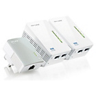 more details on TP-LINK TL-WPA4220TKIT 600Mbps Triple Kit Powerline Adapter.