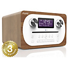 more details on Pure Evoke Bluetooth All In One DAB Radio - Oak.