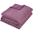 more details on Julian Charles Essence Throw - Mauve.