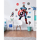 more details on Walltastic Large Captain America Wall Sticker.