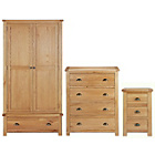 more details on Heart of House Kent 3 Piece Package - Oak