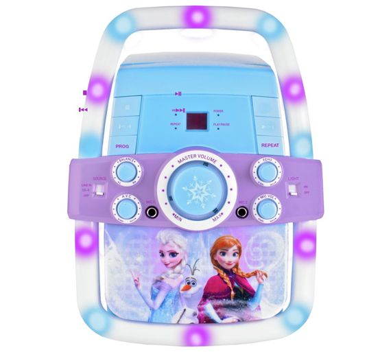 Buy Disney Frozen Light Up Karaoke Machine At Argos Co Uk