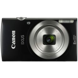 Canon Ixus 177 20MP HD Digital Camera with 8x Optical Zoom (Black)