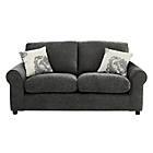 more details on HOME Tessa 2 Seater Fabric Sofa - Charcoal.