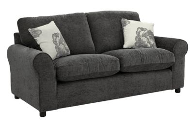Buy HOME Tessa 2 Seater Fabric Sofa - Charcoal at Argos.co ...