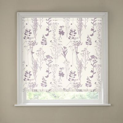Buy Meadow Blackout Roller Blind 3ft Heather At Argos