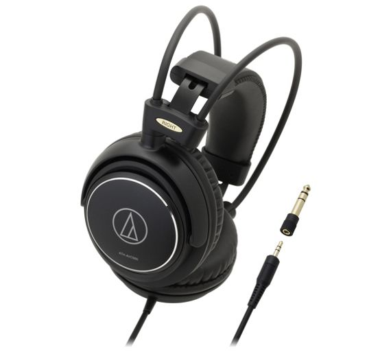 buy audio technica ath avc500 over ear headphones black at your online shop for. Black Bedroom Furniture Sets. Home Design Ideas