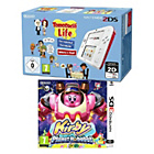 more details on Nintendo 2DS Red, Tomodachi Life, Kirby Planet Robobot.