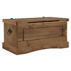 more details on Collection Puerto Rico Pine Storage Chest - Dark Finish.