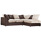 more details on HOME Annabelle XL Fabric Right Hand Corner Sofa - Mink.