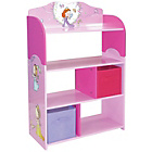 more details on Princess Bookshelf With Storage Bins.