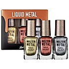 more details on Barry M Cosmetics Molten Metals Nail Beauty Set - 3 Pack.