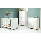 more details on Mamas And Papas Rocco 3 Piece Furniture Set - White.