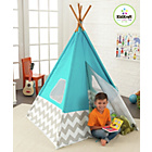 more details on Kidcraft Teepee Play Tent - Blue.