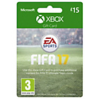 more details on FIFA 17 Xbox £15 Gift Card.