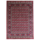 more details on Pasha Ruby Chenille Rug - 160x230cm - Red and Gold.