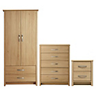 more details on Collection Truro 3 Piece Package - Oak Effect.