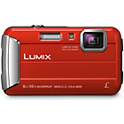 more details on Panasonic FT30 16MP Waterproof Camera - Red.