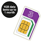 more details on Three 1GB Pay As You Go Trio Data Sim.