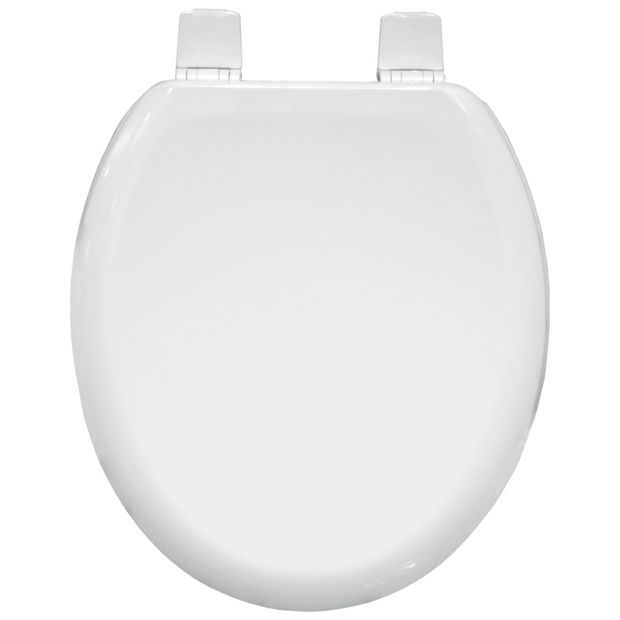 Buy bemis tacoma sta tite toilet seat white at for Bathroom accessories argos