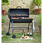 more details on Oil Drum BBQ – Cover, Utensils & Adjustable Height Grill.