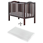 more details on Baby Elegance Sarah Cot and Mattress - Coco.