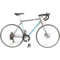 British Eagle 56cm Frame Advance Lightweight Mens Steel Road Bike (Primer Grey)