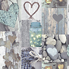 more details on Arthouse Opera Rustic Heart Natural Wallpaper.