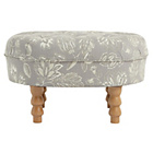 more details on Heart of House Darcy Fabric Footstool - Floral.