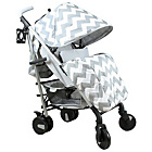 more details on My Babiie Billie Faiers MB51 Grey Chevron Stroller.