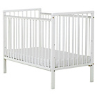 more details on Baby Elegance Kim Cot - White.