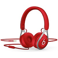 Beats by Dr. Dre EP ML9C2ZM/A On-Ear 3.5mm Wired Headphones (Red)