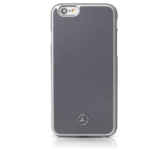 Buy mercedes iphone 6 6s metalic case grey at for Buy mercedes benz accessories online