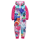 more details on Trolls Girls' Pink Onesie - 5-6 Years.