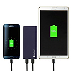 more details on CasePower 8500mAh Micro USB Cable Portable Battery - Blue.