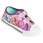 more details on PAW Patrol Girls' Pink Canvas Trainers - Size 5.