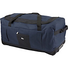 Go Explore 80 Litre Large Wheeled Holdall - Navy