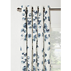 Heart of House Honesty Floral Lined Curtains - 117x137cm