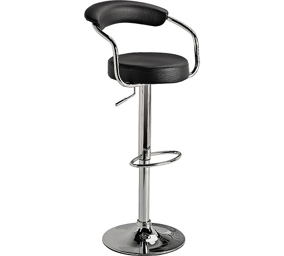 Buy Collection Executive Black Gas Lift Bar Stool At Argos