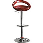 more details on Ottawa Gas Lift Bar Stool - Red.
