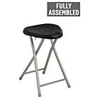 more details on Simple Value Black Folding Single Stool.