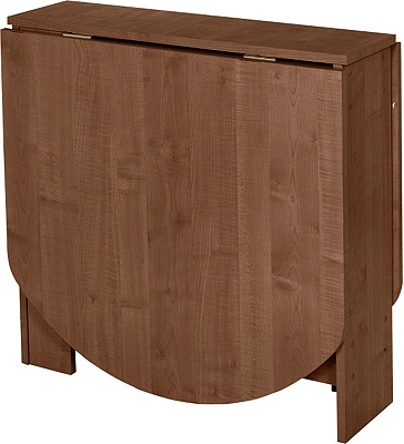 Buy HOME Gateleg Walnut Effect Extendable Dining Table at  : 6006156RZ001AUC1455024fmtpjpgampwid570amphei513 from www.argos.co.uk size 570 x 513 jpeg 86kB
