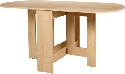 Buy HOME Gateleg Light Oak Effect Extendable Dining Table  : 6006170RSETTMBampwid620amphei620 from www.argos.co.uk size 620 x 620 jpeg 17kB
