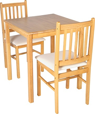 Buy HOME Kendall Square Dining Table amp 2 Chairs Solid Wood  : 6006259RZ001fmtpjpgampwid570amphei513 from www.argos.co.uk size 570 x 513 jpeg 66kB