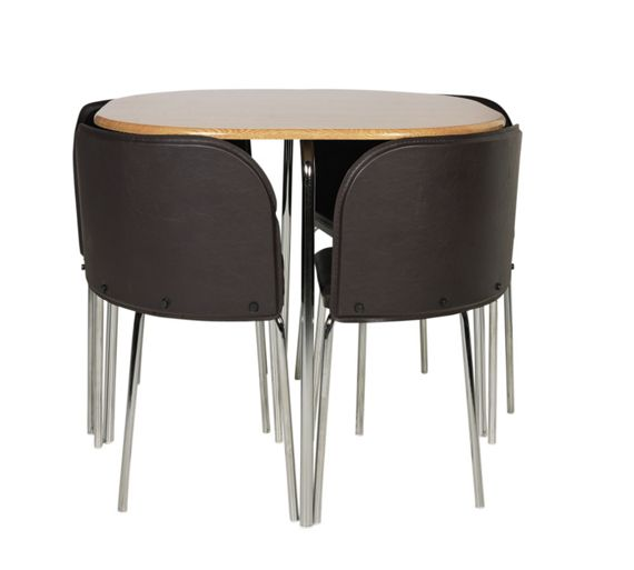 Buy Hygena Amparo Dining Table Amp 4 Chairs Oak Effect