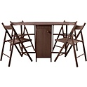 HOME Butterfly Oval Dining Table and 4 Chairs