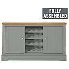 more details on Heart of House Westbury Sideboard and Wine Rack - Sage.