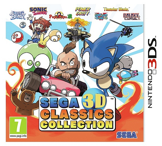 Buy SEGA 3D Classic Collection 3DS Game - Argos Exclusive ...